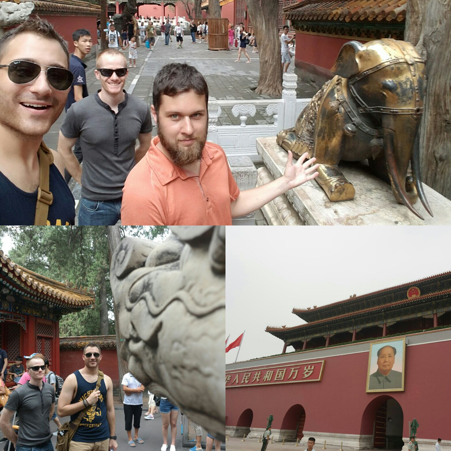 Beijing Day 9. Tiananmen Square and travel day to Xi'an